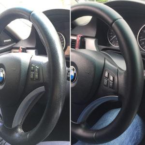 Как снять или поменять рулевое колесо